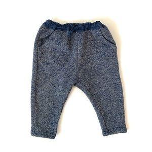Zara Baby Navy Jogger Pants
